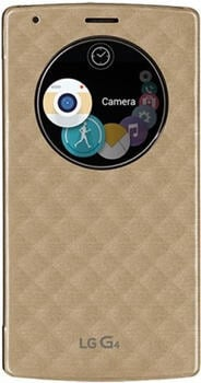 LG Quick Circle Book-Cover für G4 s, Weis