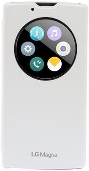 LG Quick Circle Cover weiß (LG Magna)