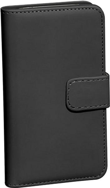 PEDEA Book Cover Classic (Samsung Galaxy S6) schwarz
