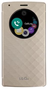 LG G4 Quick Circle Flip Case QI gold