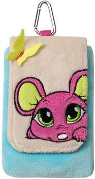 NICI Handytäschchen Maus pink