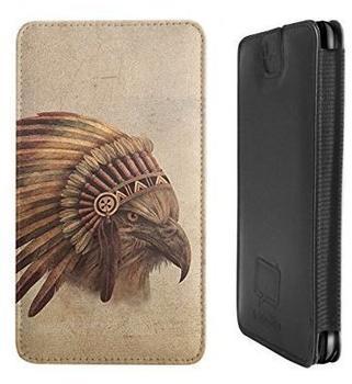 Caseable Eagle Chief Ledertasche für Lenovo Vibe Z