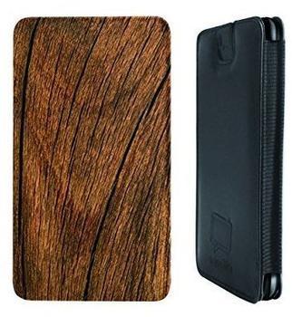 Caseable Holz Ledertasche für Nokia Lumia 830