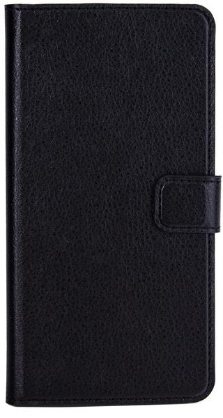 XQISIT Slim Wallet Case (iPhone 6 Plus) schwarz