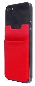 ThumbsUp! Kartenetui für Smartphones - rot