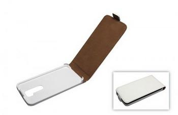 Telstar Tasche (Flip Slim) für LG G2 white