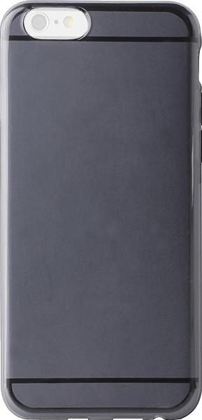 Puro Plasma Cover schwarz (iPhone 6/6S)