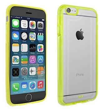 eFabrik Schutzhülle f. Apple iPhone 6 Schutz Tasche Hülle Case Cover Bumper Handyhülle transparent gelb