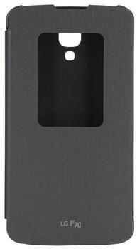 LG QuickWindow CCF-390 Flip Cover schwarz für F70