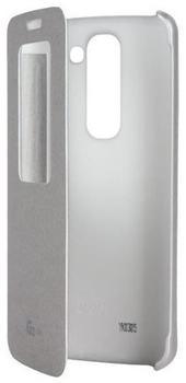 LG Flip Cover silber (LG G2 Mini)