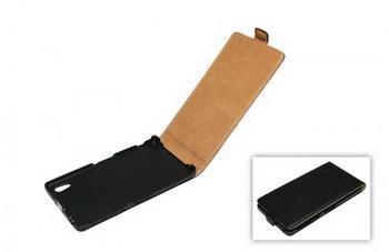 Telstar Tasche (Flip Slim) fr Sony Xperia Z1 (L39T) black