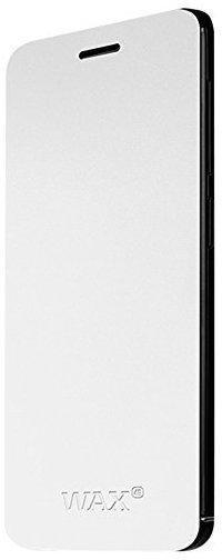 Wiko Flip Case Weiß (Wiko Wax)