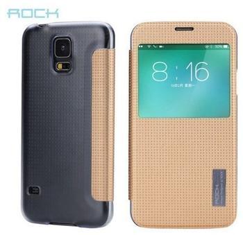 ROCK SmartCover gold für Samsung Galaxy S5