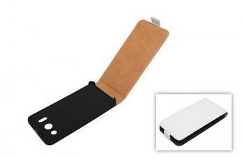 König-Shop Telstar Tasche (Flip Slim) für Huawei Ascend G510 white