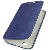 ROCK Buchdesign Tasche Big City Serie für Galaxy S4 dunkelblau