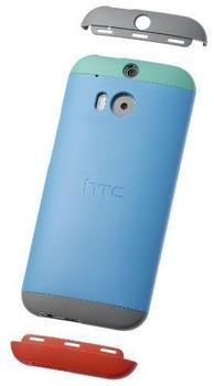 HTC Double Dip Case Blau (HTC One M8)