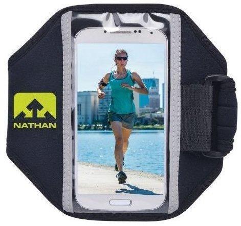 Nathan Super 5k Armtasche schwarz für Smartphone