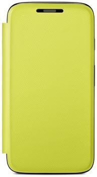 Motorola Flip Shell lemon lime für Moto G
