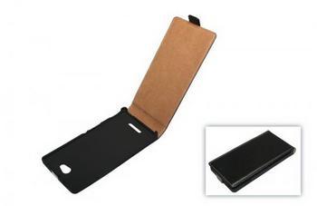 Telstar Tasche (Flip Slim) für Sony Xperia C (S39H) black