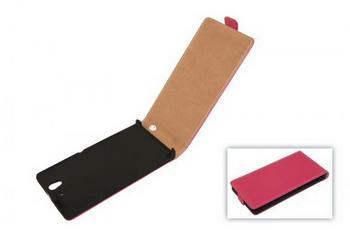Telstar Tasche (Flip Slim) für Sony Xperia Z pink