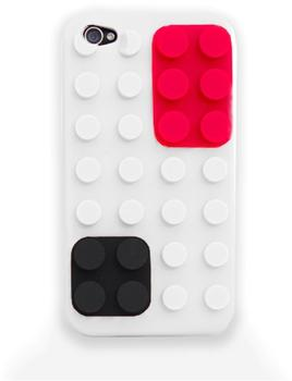 ThumbsUp Colour Block Schutzhülle weiß (iPhone 4/4S)