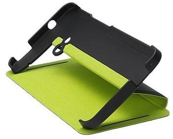 HTC HC V841 Flip Case mit Ständer schwarzgrün für One