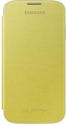 Samsung Flip Cover gelb (Galaxy S4)