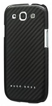 Hugo Boss Carbon Hardcover schwarz für Samsung Galaxy S III