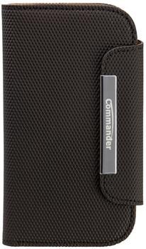 Peter Jäckel Elite Book Case diamant karbon schwarz für Galaxy S III mini