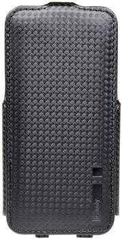 iCandy FlapBag Flip Case carbon für Apple iPhone 55s