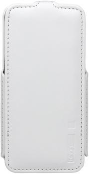 iCandy FlapBag Flip Case weiß für Apple iPhone 55s