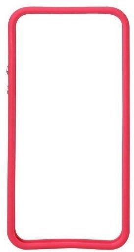 iCandy iFrame Tasche pinktransparent für Apple iPhone 55s