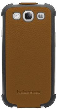 Katinkas Twin Flip Sport Case dunkelbraun für Galaxy S III