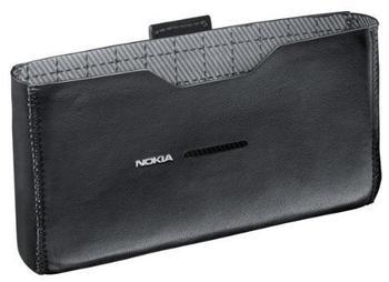 Nokia CP-520 Ledertasche schwarz für E7-00