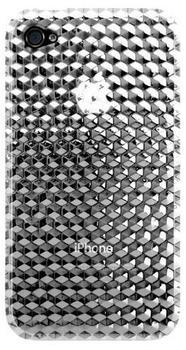 Katinkas Cover Hex 3D transparent für iPhone 4