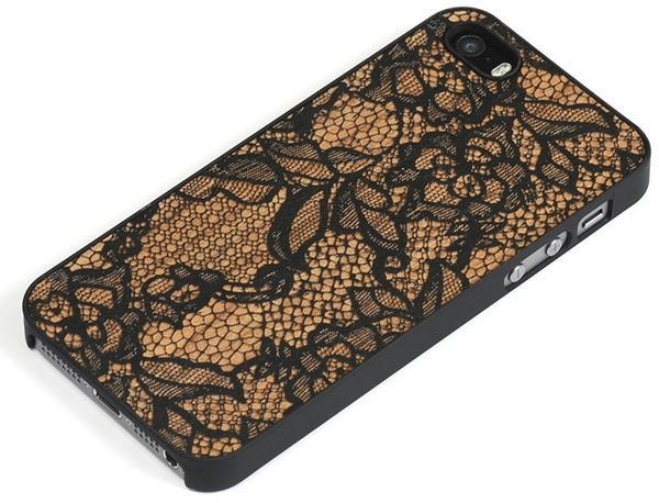 Lazerwood Lace black iPhone 6 Skins
