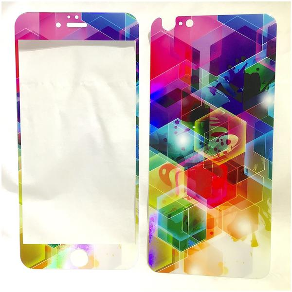 eSTUFF ES10003-3D-BLACK, Apple, Glas, Handy/Smartphone, 9H, iPhone 6+/6S