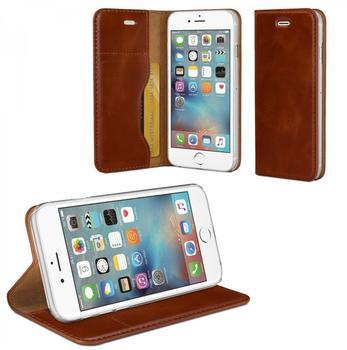 eFabrik Case für iPhone 6S Hardcase Schutz Hülle Tasche Leder braun