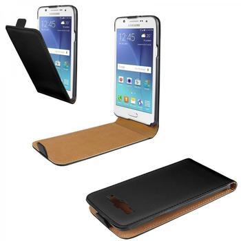 eFabrik Case Samsung Galaxy J5 Schutz Tasche Hülle Cover Etui Schutzhülle schwarz