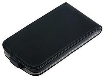 Telstar Hülle Tasche (Slim Flex) für Samsung Core i8260 schwarz