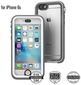 CATALYST iPhone 6/6s Case Wasserdicht White & Mist Grey