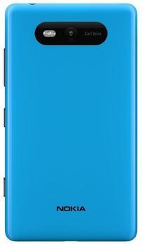 Nokia CC-3058 Shell glänzend cyan für Lumia 820