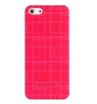 HUGO BOSS Catwalk Hardcover Pink für Apple iPhone 55S