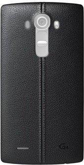 LG Back-Cover Leder für G4, Schwarz