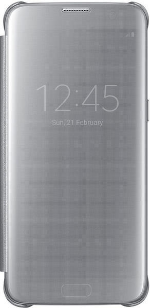 Samsung Clear View Cover (Galaxy S7 edge) silber