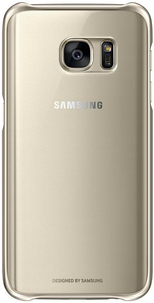 Samsung Clear Cover (Galaxy S7) gold