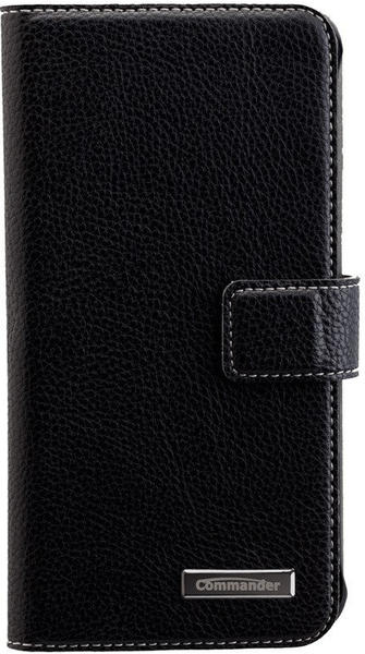 Peter Jäckel COMMANDER BOOK CASE ELITE Galaxy S7 black