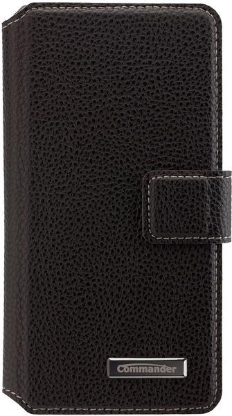 Peter Jäckel COMMANDER BOOK CASE ELITE Galaxy A3 (2016) schwarz
