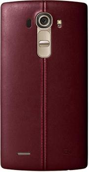 LG Electronics LG Back-Cover Leder für G4, rot, (CPR-110 brown)