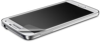 White Diamonds 2-in-1 funkelnden Displayschutzfolie für Samsung Galaxy S5
